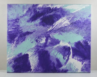 Abstract Acrlic Painting