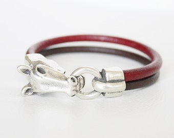 Horse Bracelet, Horse Jewelry, Western Jewelry Cowgirl, Equestrian Bracelet, Silver Horse Bracelet. Pulseira cavalo. Cheval. Armband manner.