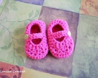 Baby Crochet Mary Jane's