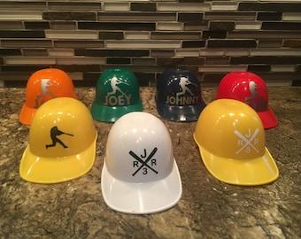 Baseball Helmets Etsy - Helmet custom vinyl stickers