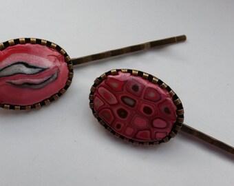 Pink Hairpins