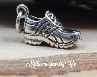 Running Shoe Charm, Shoe Charm, Tennis Shoe Charm, Runner Charm, Marathon Runner Charm, Exercise Charm, PS01565