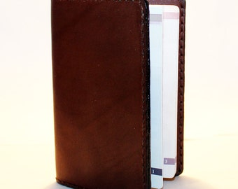 Leather Passport Cover! Leather Passport Holder! Leather Travel Passport Cover! Brown Handmade Passport Cover! SALE!