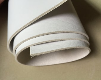 1/4 yard 2.0mm White Elephant Skin Leather Fabric,Elephant Skin Vinyl Leather fabric,faux leather fabric,Thick leather,heavy leather