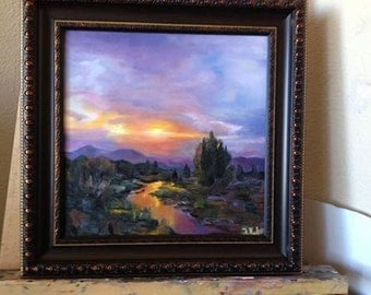 Oil painting SUNSET