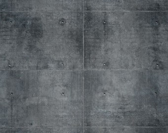 3x4 Abstract Photo Backdrop of Worn Industrial Concrete Wall - FabVinyl 3x4ft (FV3033)