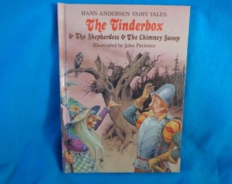 vintage Hans Andersen Fairy Tales The Tinderbox and The Shepherdess and The Chimney Sweep book