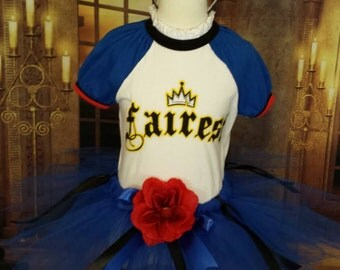 Descendants Eve skirt and headband/clip crown. Descendants costume accessories.  Disney descendants tutu skirt. 6 months - 16 years sz