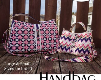 Maghann Handbag Purse Crossbody Sewing Pattern PDF