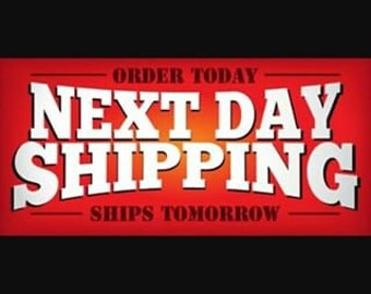 NEXT DAY SHIPPING!