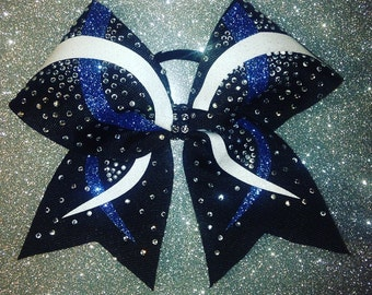 Great Competition Bows with tons of Sparkle  Cheerleading Hairbows