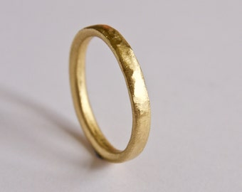 Simple wedding ring Etsy