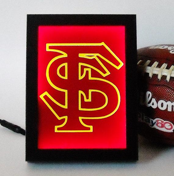 125 Florida State University Seminoles Framed Night Light