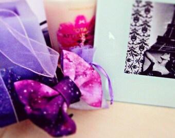Purple Galaxy Bow