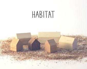 Habitat - Small wooden houses