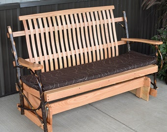 Hickory 5 ft. Porch Glider