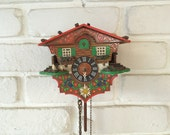 Vintage Beautiful Cuckoo Clock - Not working