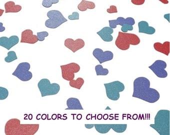 Wedding heart confetti, Glitter heart confeti, Wedding table decor, Wedding table decorations, Bridal confetti, Wedding Confetti Hearts