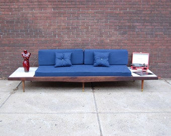 Mid Century Modern Adrian Pearsall Sofa