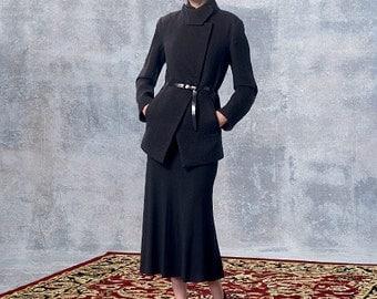 OUT of PRINT Vogue Pattern V1466 Misses' Jacket and Skirt
