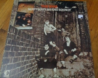 The Who - Meaty Beaty Big and Bouncy - Album Record LP