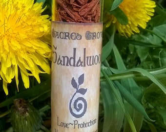 Sandalwood Witchcraft Herb Loose Herb Botanicals Pagan Wiccan Spells Cunning Craft