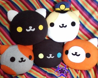 Neko Atsume Kitty pillow (your choice of kitty)
