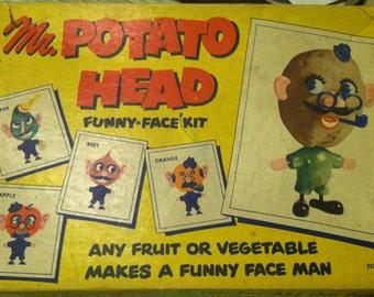Vintage Mr Potato Head Game