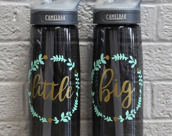 Floral Big & Little Camelbak Water Bottles