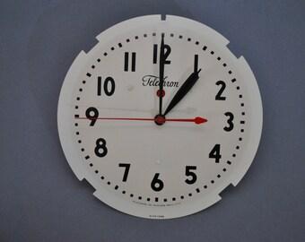 Telechron Model 1H1308 Commercial Clock Movement Circa 1950's