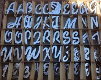 Hallcraft Diecut Letters