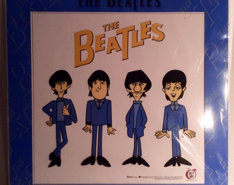 Meet the Beatles, Limited Edition Cartoon Sericel by Rock'N Toons