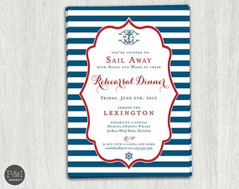 Cruise invitation Etsy