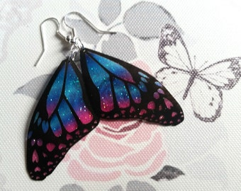 Beautiful Heart-wing earrings
