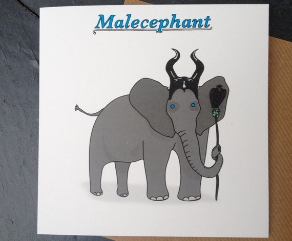 Funny Elephant Card, Funny card, funny greetings card, funny Celebration card, funny birthday card.