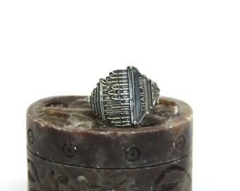 thailand  ring, bangkok  ring, temple  ring, spoon ring, siam ring