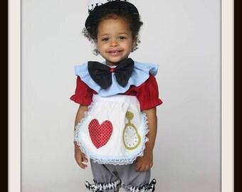 White Rabbit costume, Alice in Wonderland White Rabbit girls costume