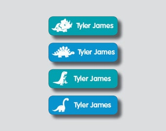 Personalized Waterproof Labels-Waterproof Stickers Name Label Dishwasher Safe Daycare Label School Labe