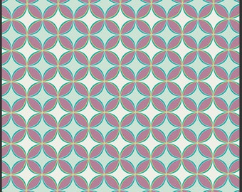 ON SALE Bespoken Beaded Gems Topaz by Art Gallery Fabrics. 100% Premium cotton - geometric, fabric by the yard, quilting fabric