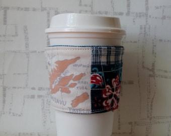 Reusable Fabric Coffee Sleeve