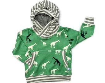 ORGANIC Cotton Baby Boy Hoodie, Organic Cotton Sweat Shirt, Infant Boy Organic Cotton Hoodie, Baby Boy Winter/Fall Clothes, Baby Boy Gift