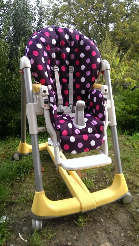 Peg Perego High Chair Replacement Cover In Hf Fabric By