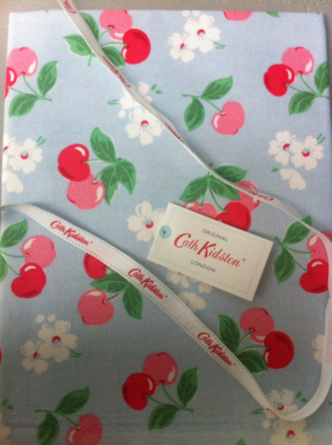 cath kidston fabric fat quarter cotton duck approx 45cm x 45cm genuine original from. Black Bedroom Furniture Sets. Home Design Ideas