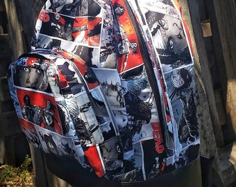 Walking Dead themed back pack