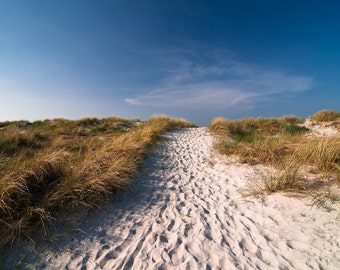 Strandweg Baltic Sea / canvas