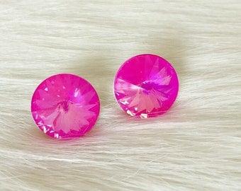 Ultra Pink Studs