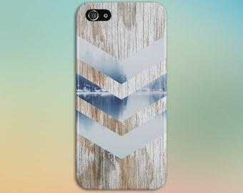 Morning Mist, Nature, Wood, Chevron Phone Case, Galaxy s8 Case, Tough Case iPhone 6, Samsung s7 edge, Case Escape, iPhone 6s Plus, Note 5