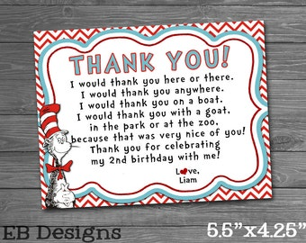 Seuss Thank You