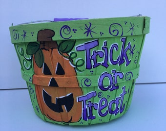 Personalized trick or treat bag | Trick or Treat bag | Treat bag | Halloween treat bag | trick or treat bucket | personalized trick or treat