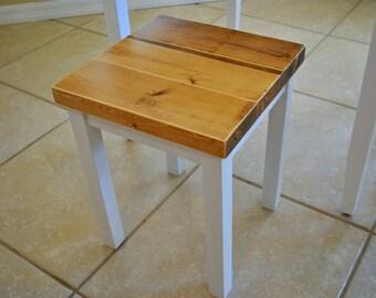Farmhouse Stool or Side Table